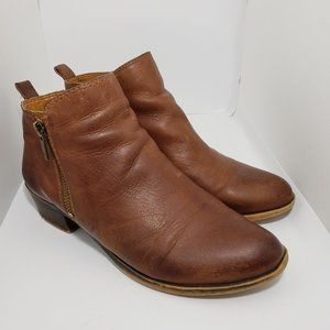 Lucky Brand Basel brown bootie size 8.5